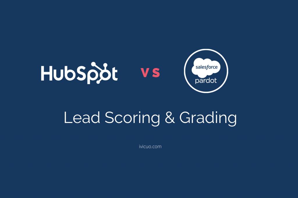 Hubspot versus Pardot - lead scoring