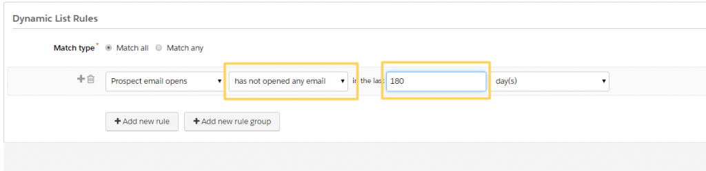 pardot unengaged users emails