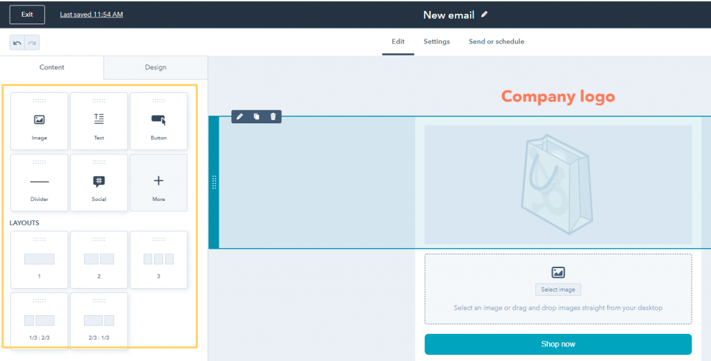 Email Template in Hubspot